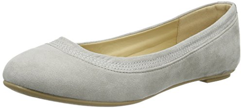 Another Pair of Shoes Bellaae1, Bailarinas para Mujer Gris (light grey09)