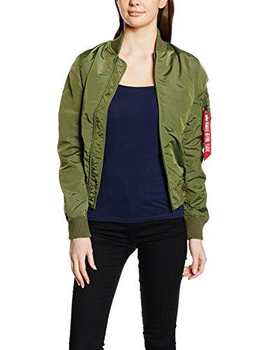 Alpha Industries Jacke Damen Ma-1 TT Wmn, Color:sage-green;Größe:XS (Jacke Damen)