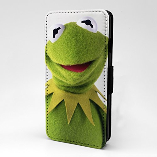 Muppet Show Bedruckt Telefon Flip Case Hülle für Apple iPhone 5 - 5 S - SE - Kermit Der Frosch - S-T0054