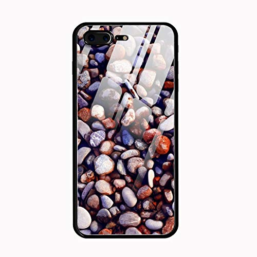 Pebbles iPhone 8 Plus Case Anti-Scratch Shock Proof Dust Proof Print PC Case