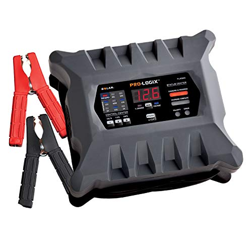 Clore Automotive PL2320 20-Amp Fully-Automatic Smart Charger, 6V and 12V Battery Charger, Battery Maintainer, and Battery Desulfator with Temperature Compensation