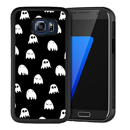 Creative Designs Little Ghost PC and TPU Anti-Scratch Phone Case for Samsung Galaxy S6 Edge Plus ()