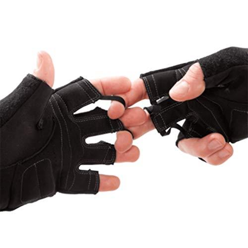 Indossabile Migliori Sollevamento antiscivolo Packs taglia colore Fitness M nero pesi idee guanti Protezione Beanie Nero sciarpa Bodybuilding e regalo 8HwR1P