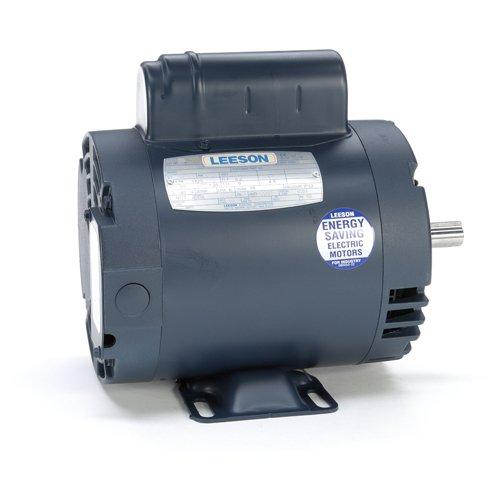 Leeson Electric 110395.00 - General Purpose Motor- Special Voltage - 1 ph, 1/2 hp, 1500 rpm, 110/220 V, 56 Frame, Drip Proof Enclosure, 50 Hz, Rigid base Mount (Base Frame Rigid 56)