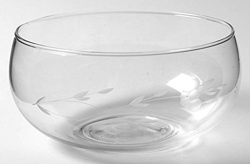 Princess House Heritage Individual 5 1/4 Inch Salad Bowl Crystal Glass