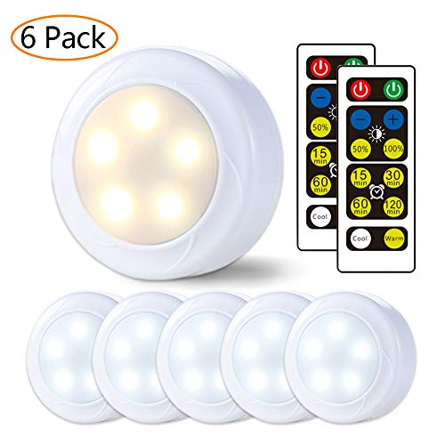 Cool White Led Puck Lights in US - 4