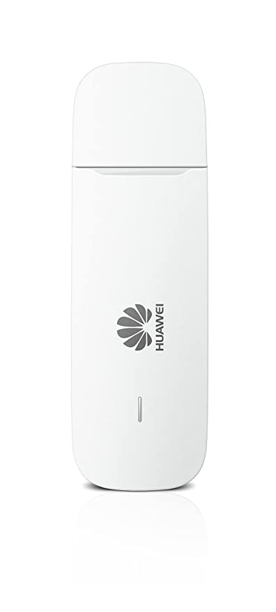 Huawei 3G/21 Mbps Unlocked E3531 High Speed USB Portable Dongle Modem-  White- Genuine UK Warranty stock - (non network logo)