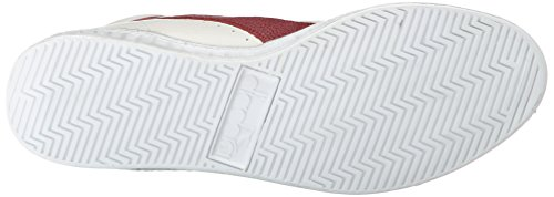 Peperone Bianco Adulto Game Diadora C5147 Waxed Rosso L Multicolor Sandalias High Plataforma con Unisex 7q4vgxqwT