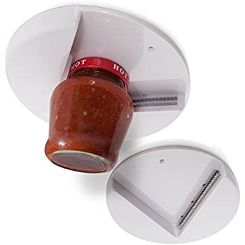 Jar Opener For Seniors Arthritic Hands (Pack Of 2) Under The Kitchen Cabinet  Counter