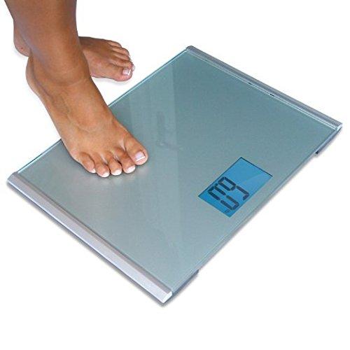 EatSmart Precision Plus Digital Bathroom Scale with UltraWide Platform 440 Pound Capacity