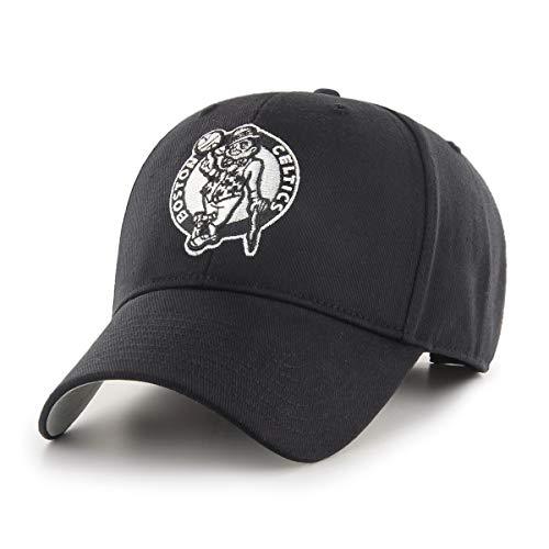 NBA Boston Celtics NBA OTS All-Star Adjustable Hat, Black And White, One Size -
