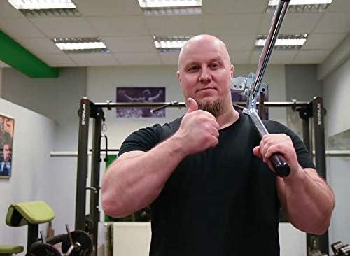Robert Baraban - Entrenador de Pecho Ajustable con Siete muelles, Entrenador de Potencia Extrema, Levantamiento de Potencia, más Fuerte, ejercitador ...