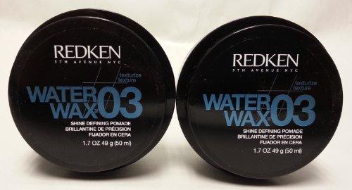 Water Wax Shine Defining Pomade (Redken Water Wax Shine Defining Pomade, 1.7 oz, 2 pk)