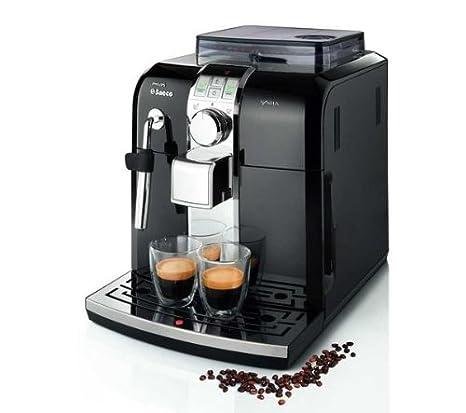Philips/Saeco máquina para café espresso Syntia Focus hd8833/11 + Desincrustante CA6700 (