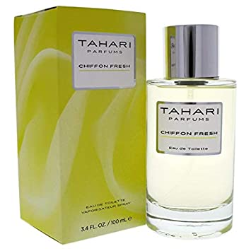 Amazoncom Tahari Parfums Chiffon Fresh Eau De Parfum For Women