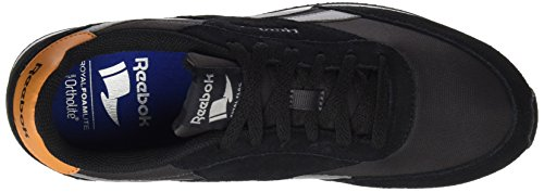 Reebok Royal Classic Jogger 2, Sneakers Basses Homme, Noir (Black/Coal/Flint Grey/Rich Camel), 39 EU