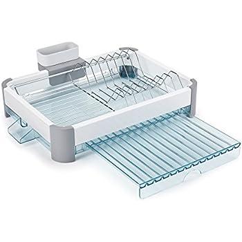 Amazon Com Minky Foldaway Dish Rack White
