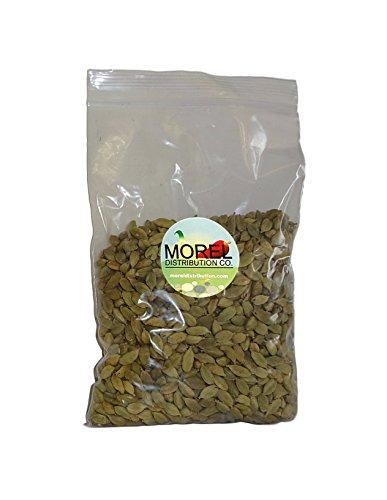 Whole Cardamom Pods/Seeds (Cardamomo) (1 oz, 2 oz, 4 oz, 6 oz, 8 oz, 12 oz, 1 lb, 2 lbs) (8 OZ) by Morel Distribution Company (Image #1)
