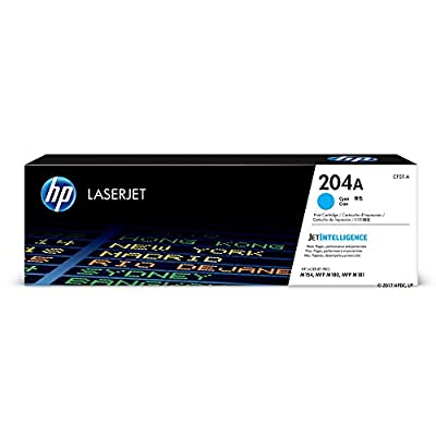 HP 204A (CF511A) Cyan Original Toner Cartridge for HP Laserjet Pro MFP M180nw M154nw