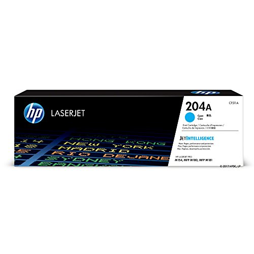 HP 204A (CF511A) Cyan Original Toner Cartridge