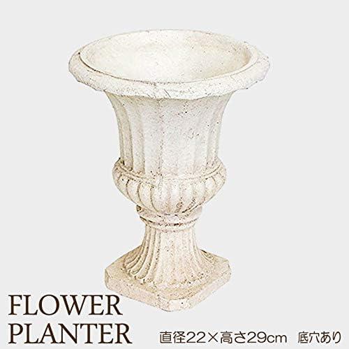 プランター 植木鉢 おしゃれ 鉢植え レジン フラワーベース 特大 直径220×高さ290