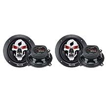 "4) BOSS SK652 6.5"" 600W 2-Way Full Range Skull Car Audio Speakers 2 PAIR"