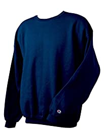 Champion Adult 50/50 Crewneck Sweatshirt, Navy - Size 2X-Large