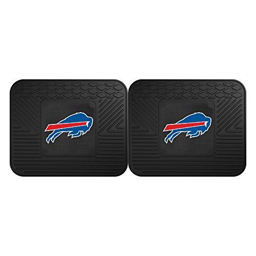 FANMATS NFL Buffalo Bills Vinyl 2-Pack Utility Mats