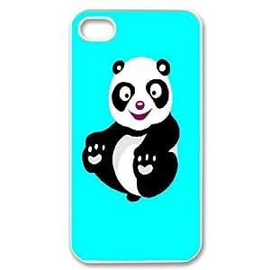Custom Panda Shell Case, DIY Panda Cover for iPhone 4,4S
