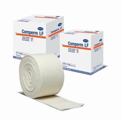 Hartmann 83070000 Comperm Tubular Bandage, Size G, 33' Length, 5'' Width, Latex Free
