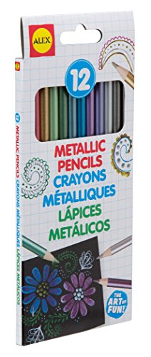 ALEX Toys Artist Studio 12 Metallic Pencils