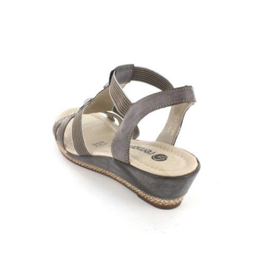 REMONTE D245625 Damen Sandalette, Braun 40 EU