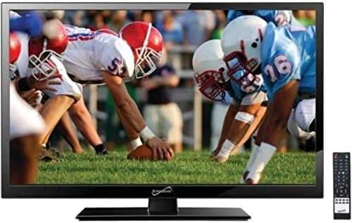 Supersonic 19-Inch 1080p LED Widescreen HDTV w// Remote AC//DC Compatible HDMI
