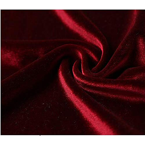 Coppia Accappatoio Kimono Donna Accogliente Lusso Da Cintura Hotel Spa Sleepwear Tasca Velluto Di Vestaglia Morbida Red Notte Camicia Lungo q0vpwIzH
