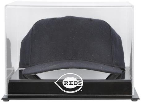 Cincinnati Reds Acrylic Cap Logo Display Case - Mlb Baseball Cap Display Case