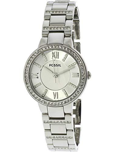Fossil Women's Virginia Quartz Stainless Steel Dress Watch,