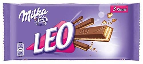 Milka - Leo, Wafer Bar with Milk Chocolate, 3-pack - 99.9gr ...