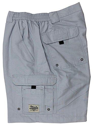 - Bimini Bay Outfitters Boca Grande Nylon Short, Pearl Gray, 36