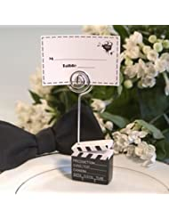 Movie Director Clapboard Placecard Holders Unique Wedding Favors 24