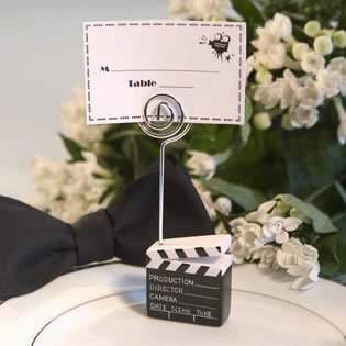 Amazon.com: Movie Director Clapboard Placecard Holders - Unique ...