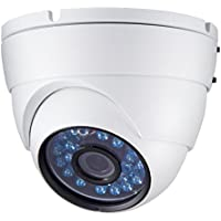 HD IP 1080p Dome Security Camera, Wired H.264 Network, 24 IR Day Night Vision, Wide Angle 2.8mm Lens, Home Surveillance Cameras System, ONVIF