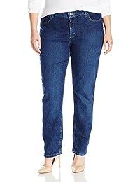 Riders by Lee Indigo Womens Plus-Size Plus Size Joanna Classic 5 Pocket Jean