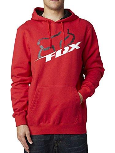 Uomo Cappuccio M Felpa Fox Rosso Con EqU6Wwt 84f5587b961