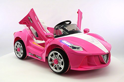 Ride on Car  NEW MODEL Ferrari Spider Style Kids MP3 12V Battery Powered Wheels R/C Remote Control Electric Toy