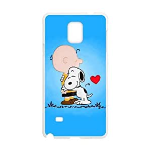 Samsung Galaxy S4 Phone Case White Charlie Brown and Snoopy VLN1134907
