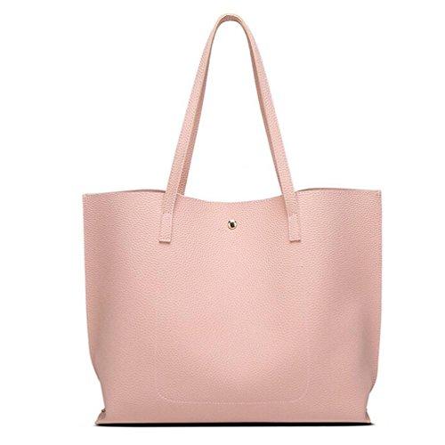 Leather Bag Handbag Girls Shoulder Shopping Fashion Pink Tote Fcostume Tassels Women xOazUw