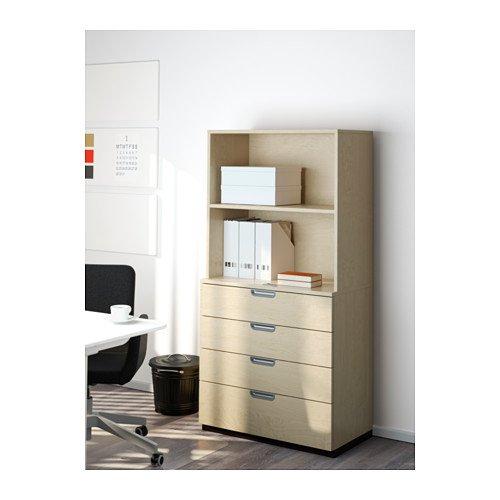 Ikea Office Add-on unit, birch veneer 31 1/2x31 1/2 '', 1426.22014.3022