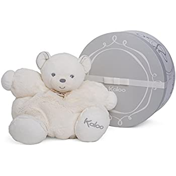 Kaloo Perle Plush Toys, Cream Chubby Bear, Large