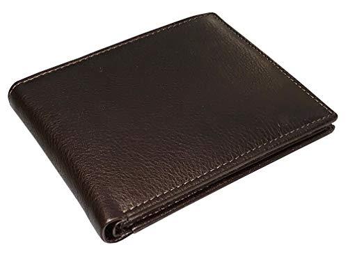 Corder London Men's Premium Full Grain Leather Trifold Wallet Lambskin With 12 Card Slots 9.5cm X 11.5cm ()