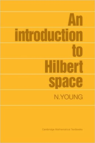 An introduction to hilbert space cambridge mathematical textbooks an introduction to hilbert space cambridge mathematical textbooks 1st edition fandeluxe Gallery
